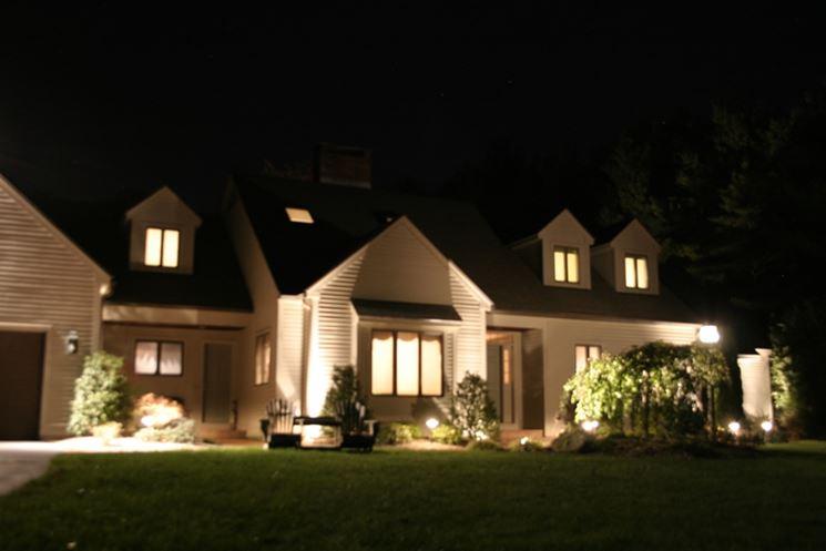 Illuminazione Casa Esterno: 1000 images about Luci da esterno on Pinterest Gardens.