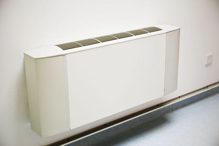Un radiatore elettrico