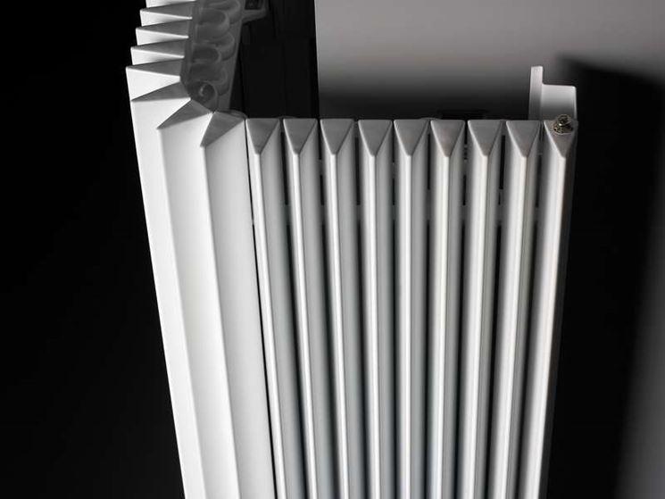Radiatore con funzione di arredamento
