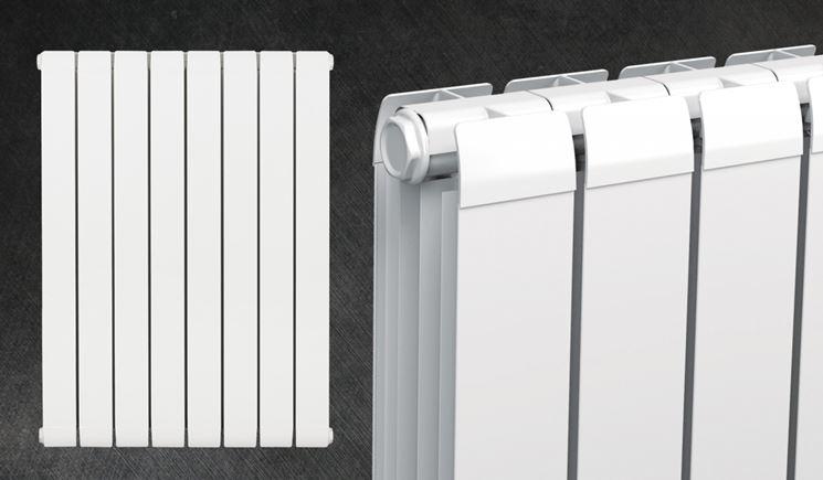 Esempio di radiatore in alluminio