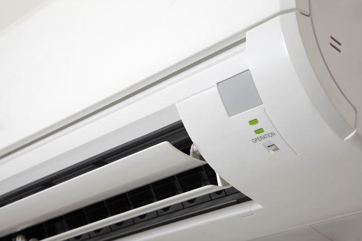 Split interno di un condizionatore a pompa di calore