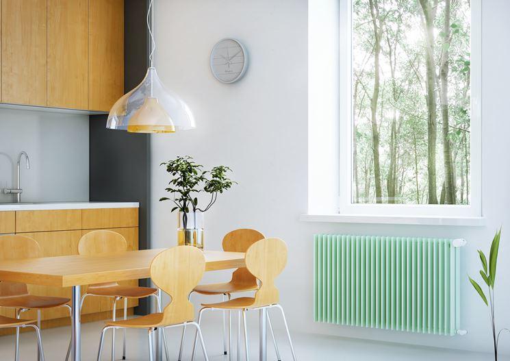Radiatori colorati come riscaldare casa termosifoni colorati