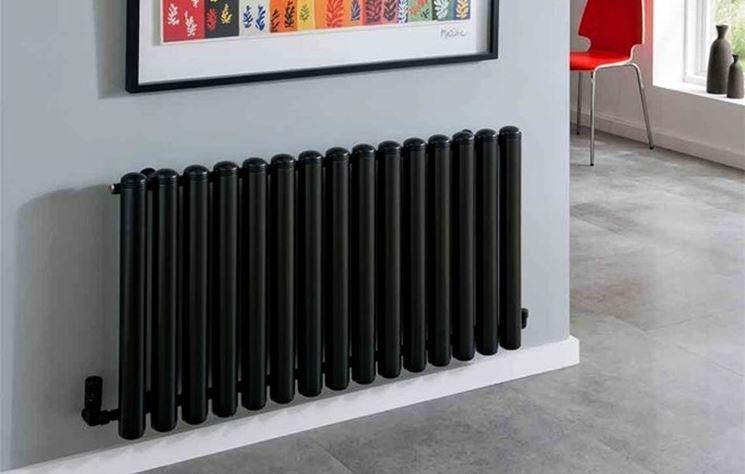 Radiatore di design nero