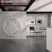 Radiatore di design in cucina