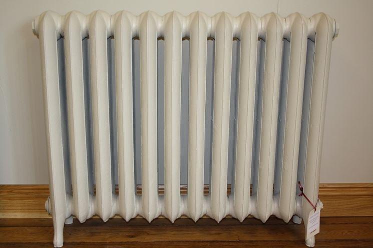 Un comune radiatore in ghisa