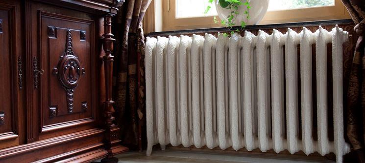L'ampiezza dei radiatori in ghisa