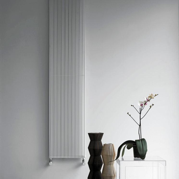 Radiatori tubolari per riscaldare la casa