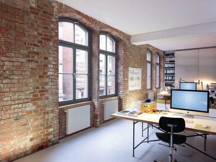 Radiatori ventilati in un ambiente lavorativo
