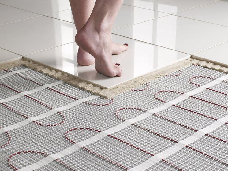 Impianto a pavimento