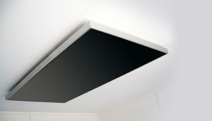 Stufa a infrarossi per soffitto