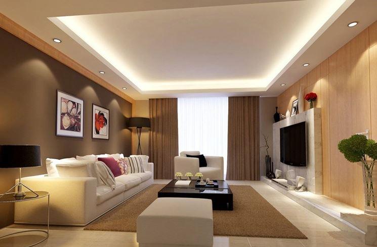 Luce calda per l'arredamento degli interni