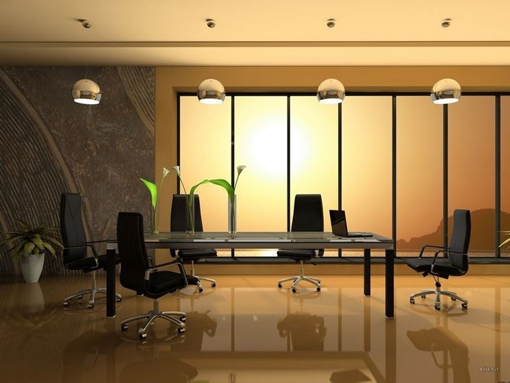 Plafoniere Led Per Uffici : Illuminazione a led per interni casa luce