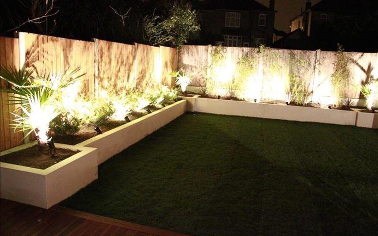 Illuminazione da giardino