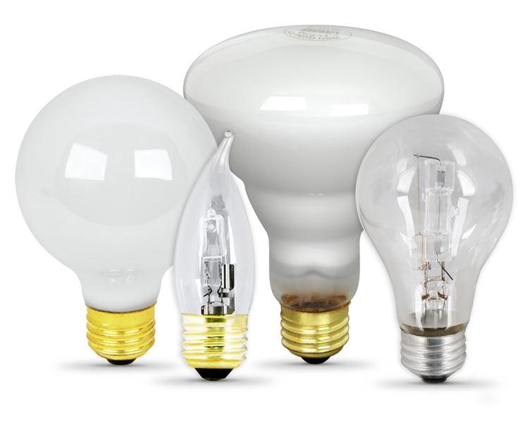 Esempio di lampadine alogene