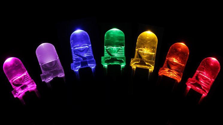 Led di diversi colori