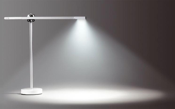 Lampada led con luce bianca