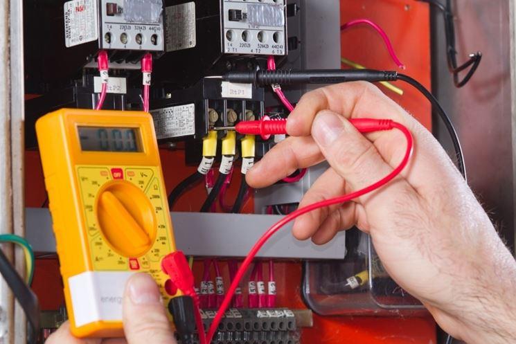 controllo impianto elettrico per dichiarazione di rispondenza