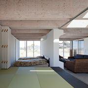 Casa con impianto di ventilazione