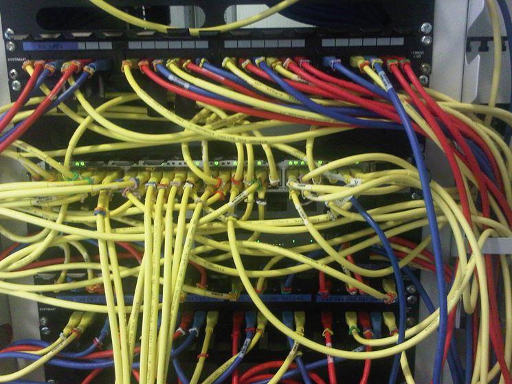 Rete di cavi elettrici