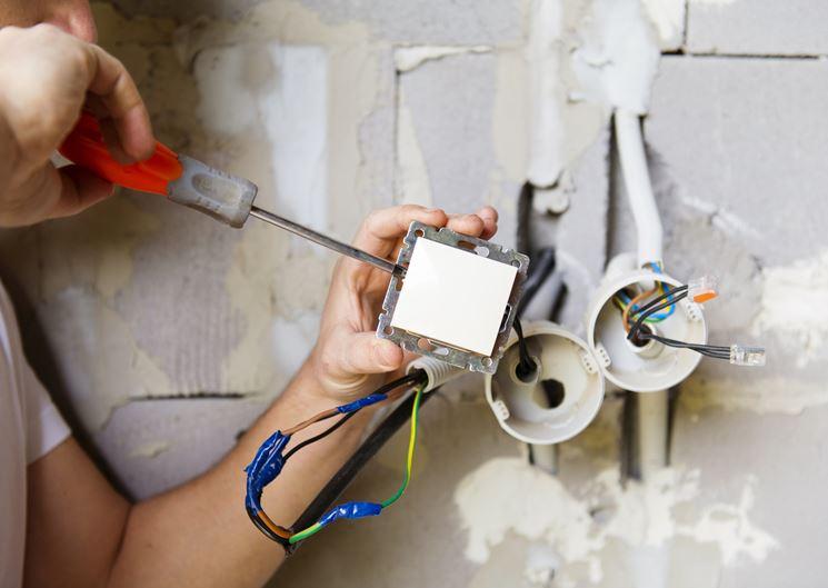 Impianto elettrico esterno impianto elettrico - Colori dei fili impianto elettrico casa ...