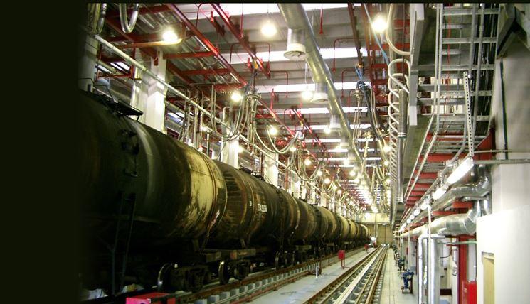 Impianto elettrico di una fabbrica