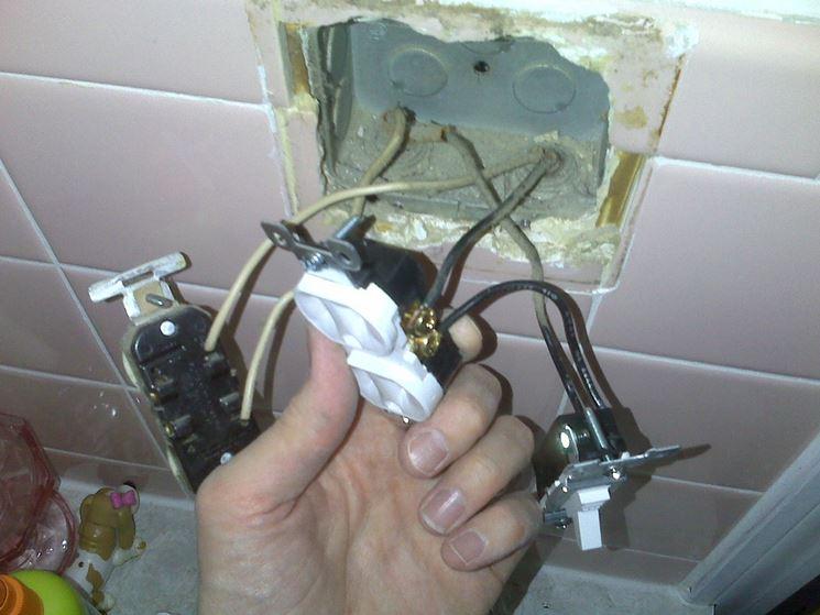 Interno presa elettrica