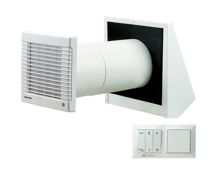 Unità singola di ventilazione controllata