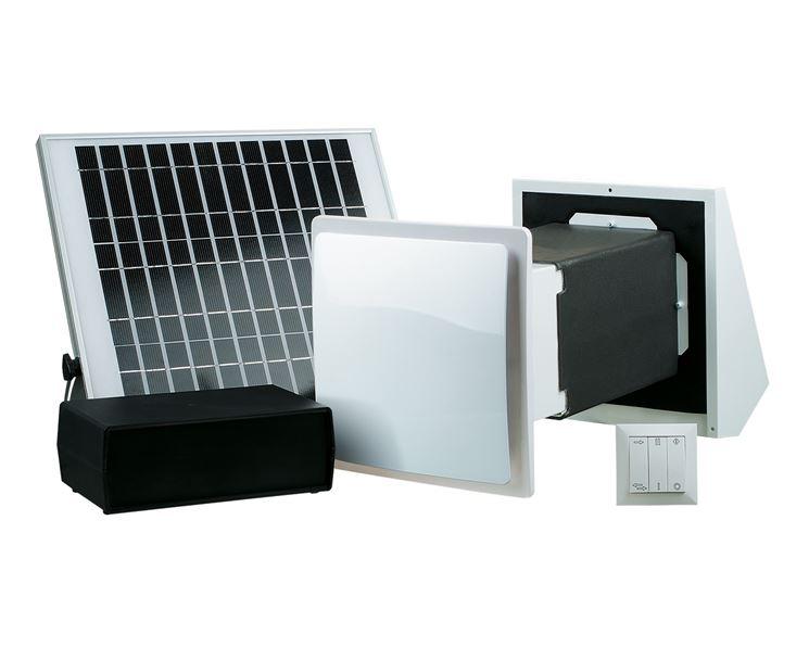 Ventilazione alimentazione solare