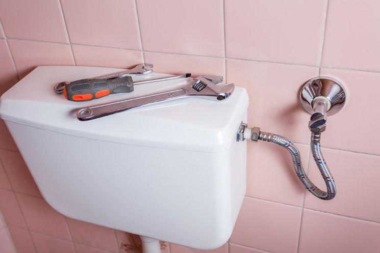 Come riparare la cassetta dello scarico wc