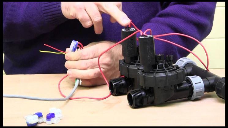 Installare un'elettrovalvola da irrigazione