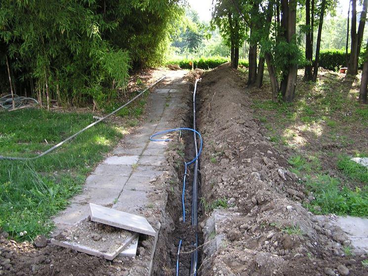 Impianto irrigazione giardino impianto idraulico come - Realizzare impianto elettrico casa ...