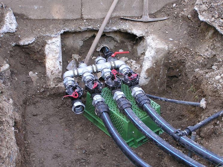 impianto irrigazione giardino impianto idraulico come