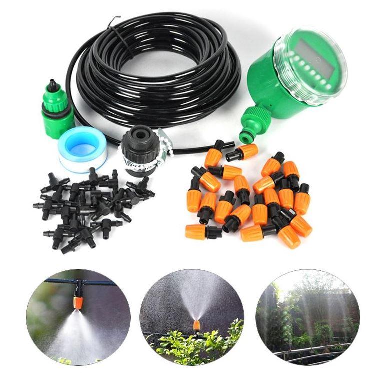 I componenti per creare un impianto di irrigazione