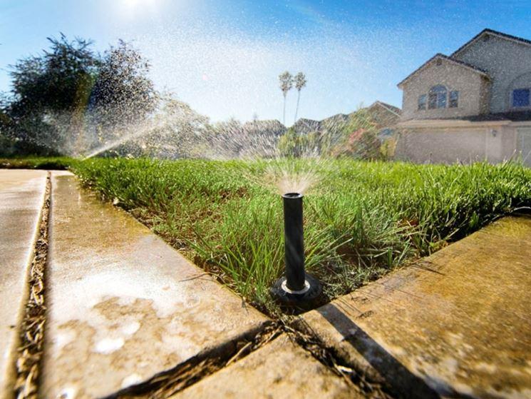irrigazione interrata impianto idraulico impianto per