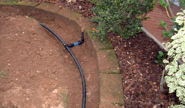 Irrigazione interrata impianto idraulico impianto per irrigazione interrata - Impianto idraulico casa prezzo ...