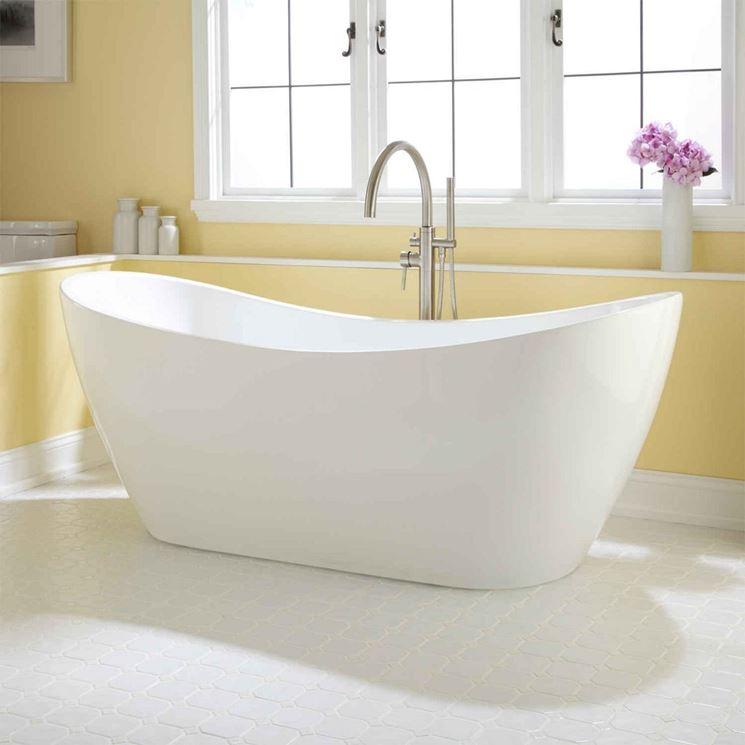 Esempio vasca da bagno