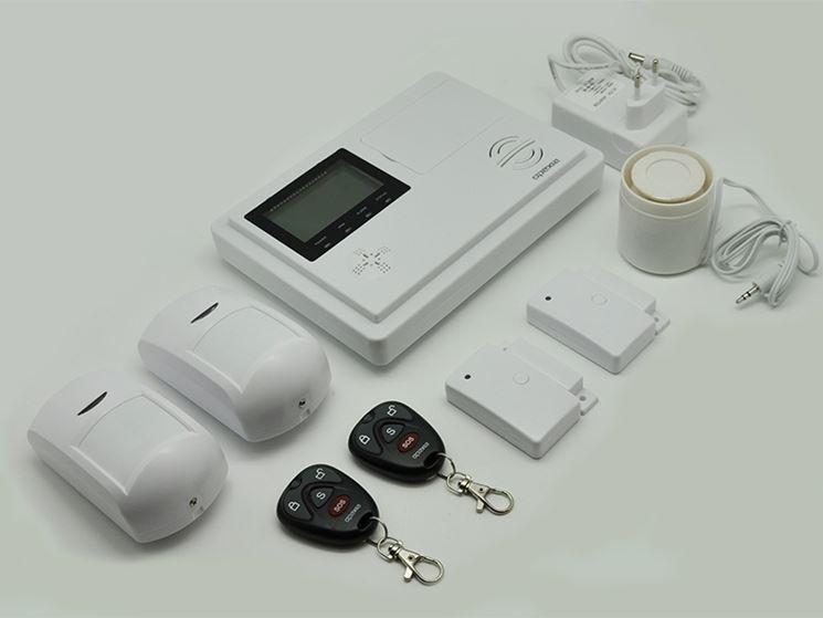 Allarme wireless completo