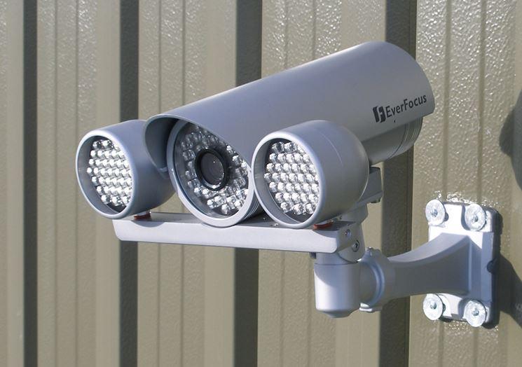 Telecamera videosorveglianza wifi