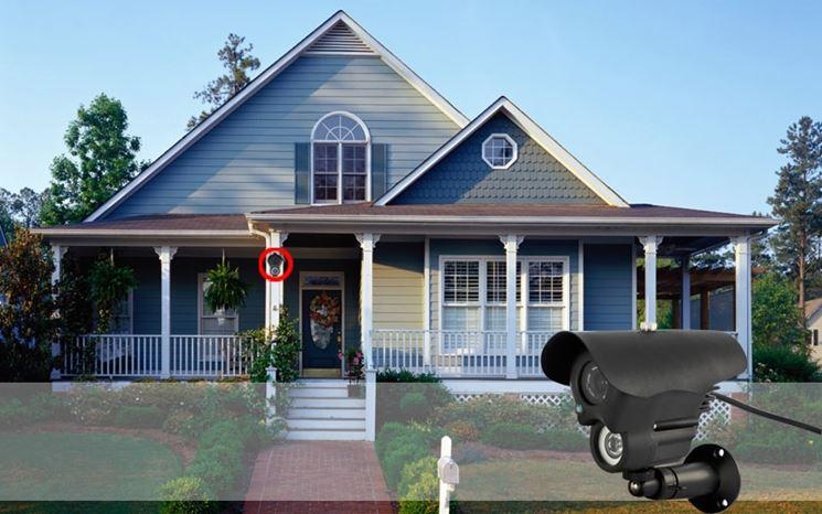 Videosorveglianza per sicurezza in casa