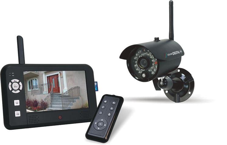 Telecamera di videosorveglianza wireless