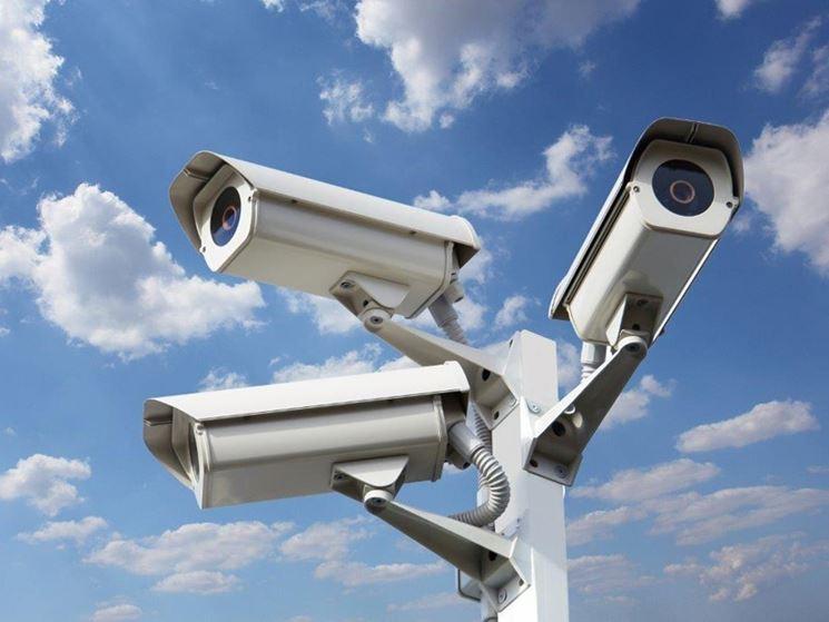 Impianto videosorveglianza
