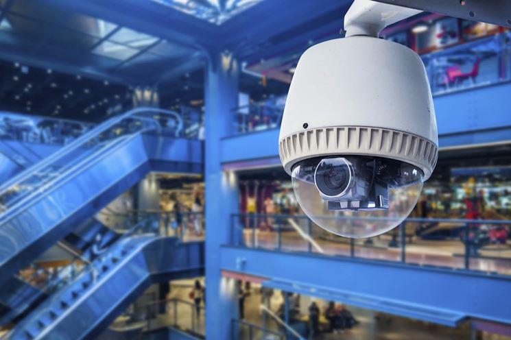 Videosorveglianza centro commerciale