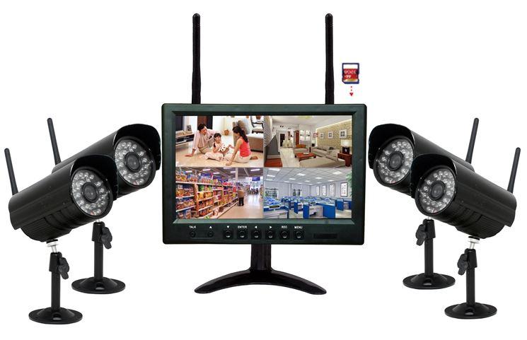 Videosorveglianza wireless - Kit videosorveglianza - Sorveglianza casa wirelees