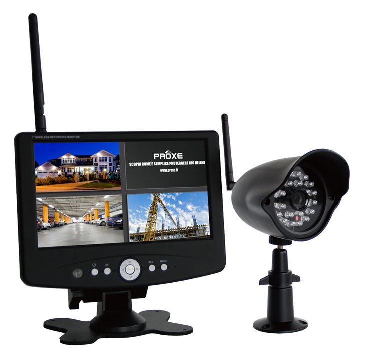 Kit di videosorveglianza wireless