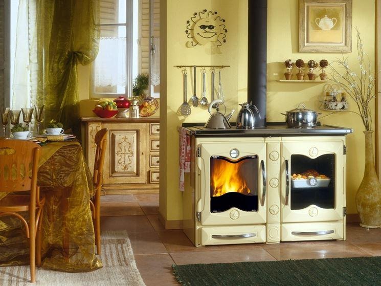 cucina a legna