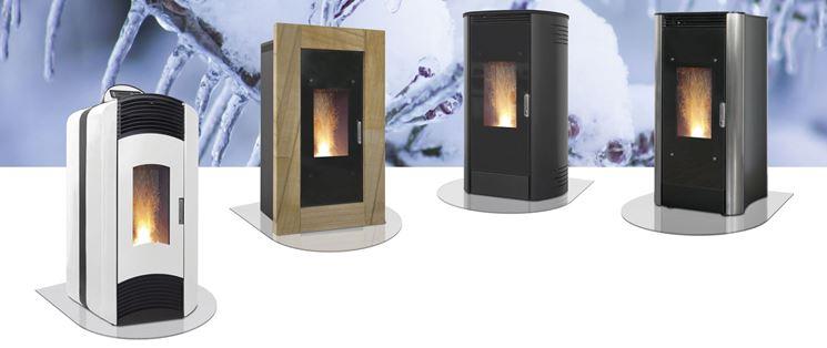 Diversi modelli di termostufa