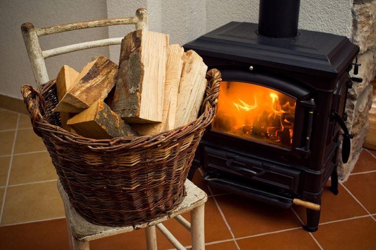 Termostufa a legna in ghisa