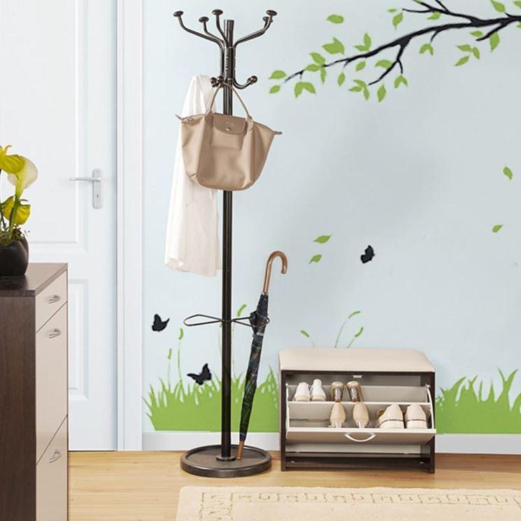 Attaccapanni per ingresso accessori casa modelli ed for Accessori casa