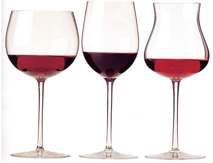 Servizio di bicchieri da vino
