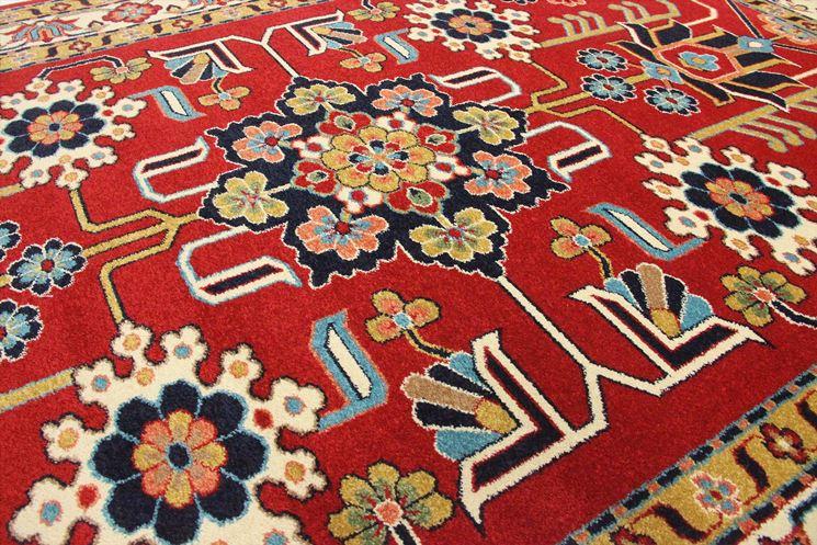 Esemplare di tappeto orientale